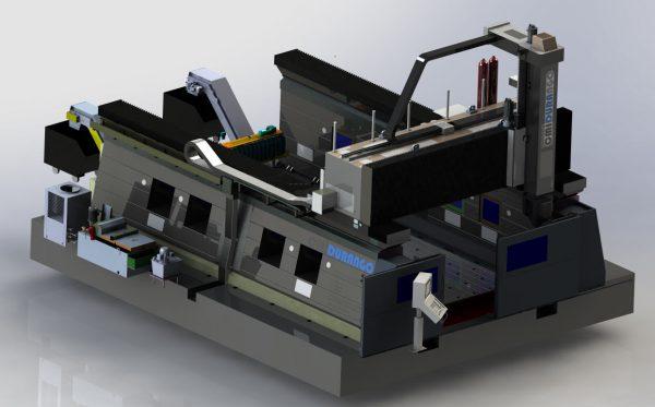 Fresadora Gantry FGB Max