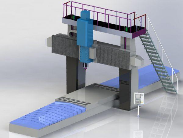 Fresadora Puente Móvil FPM Plus